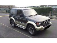 Mitsubishi pajero / shogun diesel manual super select 4x4