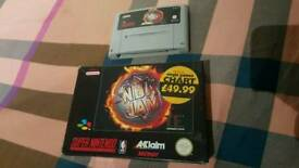 SNES NBA JAM BOXED GAME