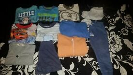 12-18 mths baby boys clothes bundle