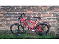 Genesis Latitude Reynolds 853 steel mountain bike Shimano XT Thomson FSA Rockshox Cotic Orange Giant