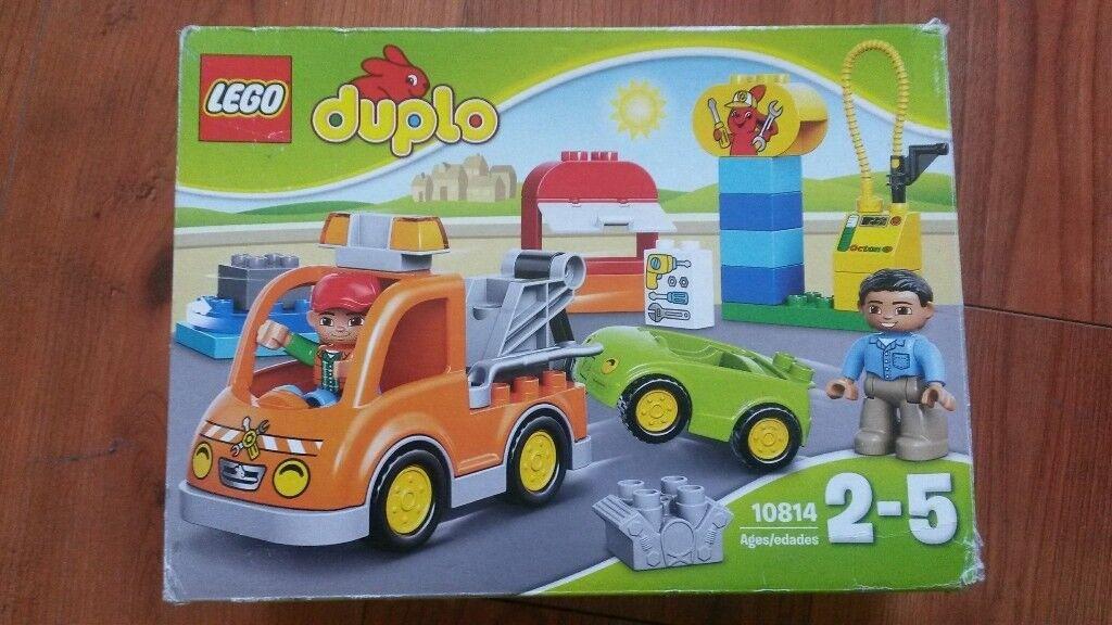 Lego Duplo Tow truck 10814