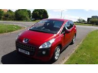 PEUGEOT 3008 1.6 ACTIVE,2012,AUTO,30,mls,Alloys,Air Con,Park Sensors,Full Service History,Spotless