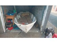"12"" Simulated Swift Clinker Boat - Needs Finishing - Plymouth"