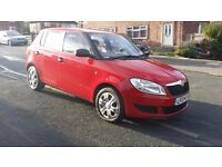 skoda fabia 2013 1.6 tdi s, full service history, one owner from new