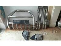 4x4 chrome bits £40