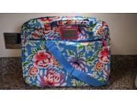 Designer laptop satchel bag.
