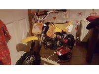 110cc x sport pro pitbike runs flawles good xmass present not quad buggy gokart scrambler dirtbike