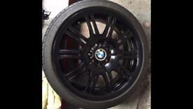 BMW E46 M3 alloys and Honda Integra Type R DC2 alloys