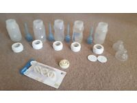 Free-5 Dr Brown baby bottles (used)