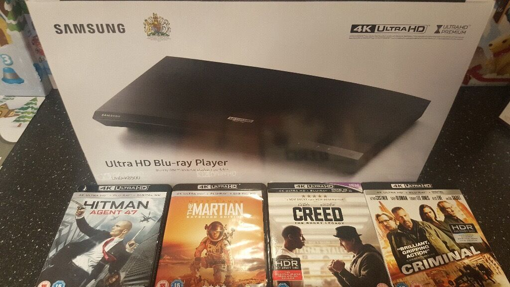 Samsung UBD-K8500, Blu-ray UHD Player With 4 Film's