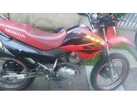 Honda xr 125 cc