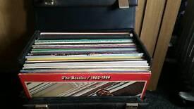 42 vinyl records