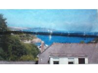 Stunning Modern First Floor 1 Bed Flat in Falmouth with Sea Views and Parking!