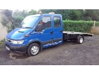 RECOVERY LORRY 3.5TON IVECO DAILY RECOVERY LORRY CREW CAB