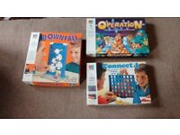 Three MB board games in excellent condition