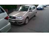 2006 FIAT PUNTO, SILVER, 5 DOORS, ONE LADY OWNER FROM NEW