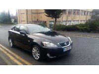 2008 Lexus IS 220d 2.2 TD SE 4dr diesel black***leather,satnav***
