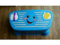 Fisher Price Toilet / Sink Tappin Tunes Sing with Me Step Stool