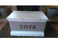 Lovely New Handmade Toy Box