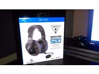 PS4 Turtle Beach Stealth 520 Surround Sound Gaming Headset