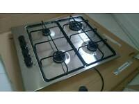 Brand NEW Gas Hob Cooker Stainless Steel Silver