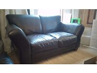 DFS leather suite 3, 2 and footstool