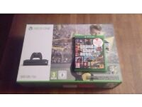 Xbox One S Boxed Special edition storm grey and GTA V 5