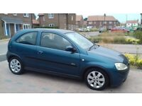 VAUXHALL CORSA 1.2 SXI...51 PLATE. MOT DEC 18. NO ADVISORIES. PERFECT RUNNER. IDEAL 1ST CAR