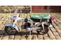 Honda ST70 Monkey Bike Lady Dax