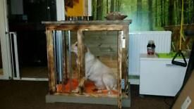 Indoor dog kennel, dog crate
