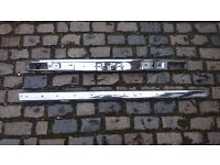 VINTAGE 1970S CLASSIC CAR AUDI 80 Mk 1 CHROME FRONT & REAR BUMPERS FRONT STILL LABELLED BOTH VGC
