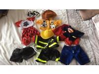 Build a bear assorted clothes bundle
