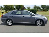 2006 TOYOTA AVENSIS...DIESEL...FULL YEAR MOT...LOW MILEAGE