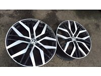 santiago alloys 19 inch for Volkswagen cars 5 x 112 fitment