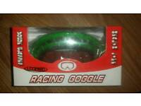 Leopard kids racing goggles **new**