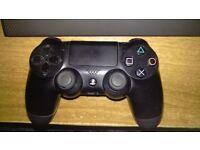 PS4 Black Controller