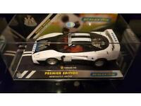 Brand New Scalextric Ferrari F40 Newcastle United Premier Edition