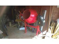 Electric Cement Mixer 140L