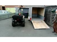 Honda 500 cc quad and trailer