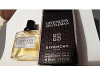 As new - Givenchy Gentleman Eau De Toilette Spray 50 ml