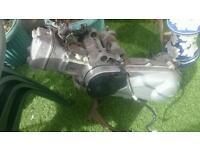 Honda Dylan 125 engine