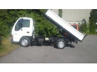 Very good clean izue nkr tipper no vat wallisdown very cheap truck