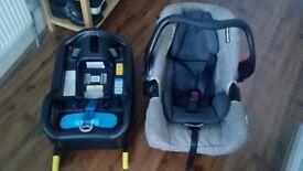 Graco evo car seat and isofix