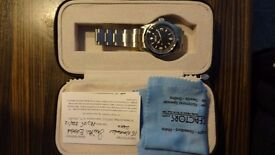 LIKE NEW SMITHS EVEREST BY TIME FACTORS AUTOMATIC WATCH PRS-25.