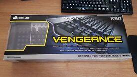 Corsair Vengeance K90 Cherry MX Mechanical Keyboard