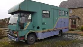 Ford Cargo 813 Horse box spares or repair