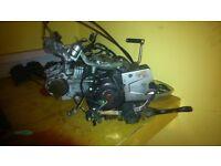 Suzuki fl 125cc dw k7 addree engine 2008