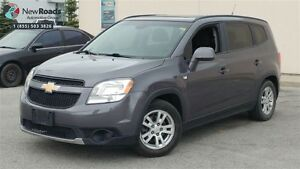 2012 Chevrolet Orlando LT, ALLOYS, ROOF, ONE OWNER, NO ACCIDENT