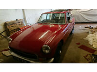 MGB GT newly referbished