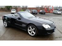 MERCEDES SL350 CONVERTIBLE (PART EX WELCOME)